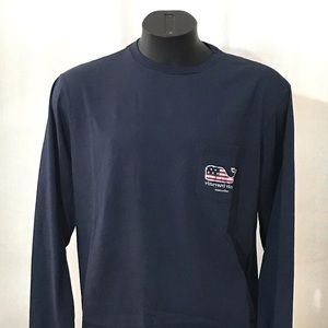 Vineyard Vines Nantucket Tee Long—Sleeve
